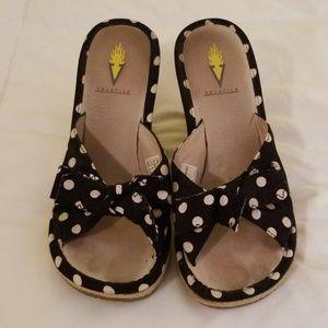 Volatile wedge heels. Size 7